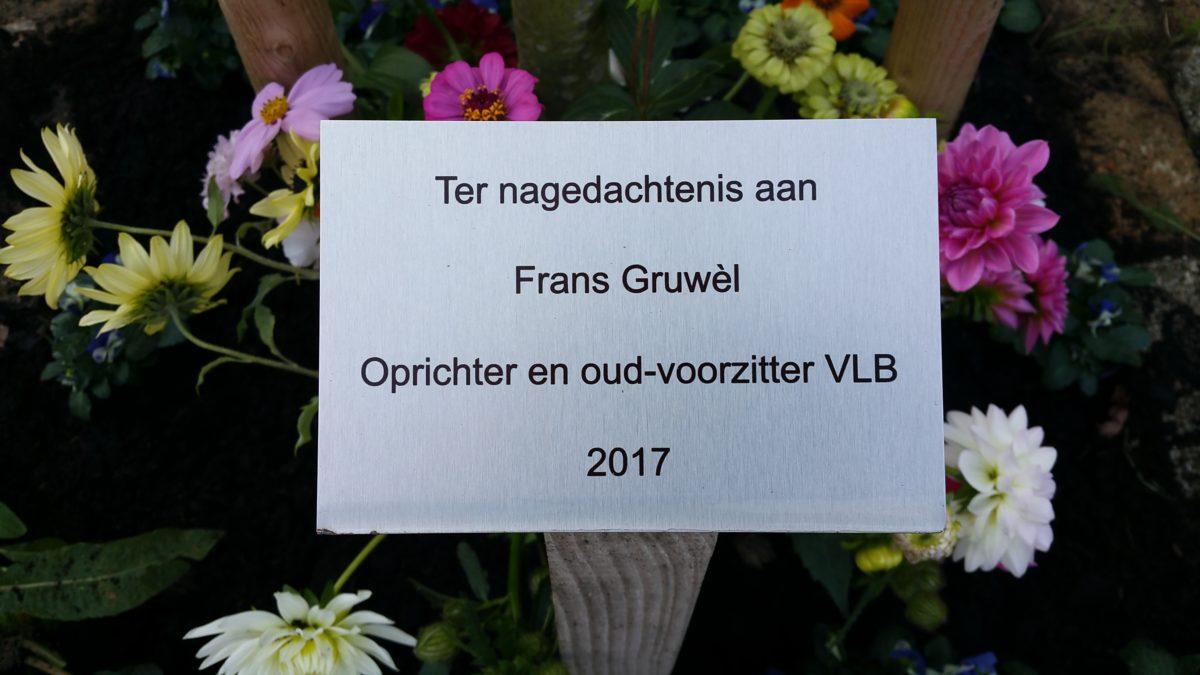 Sterfdag van Frans Gruwèl