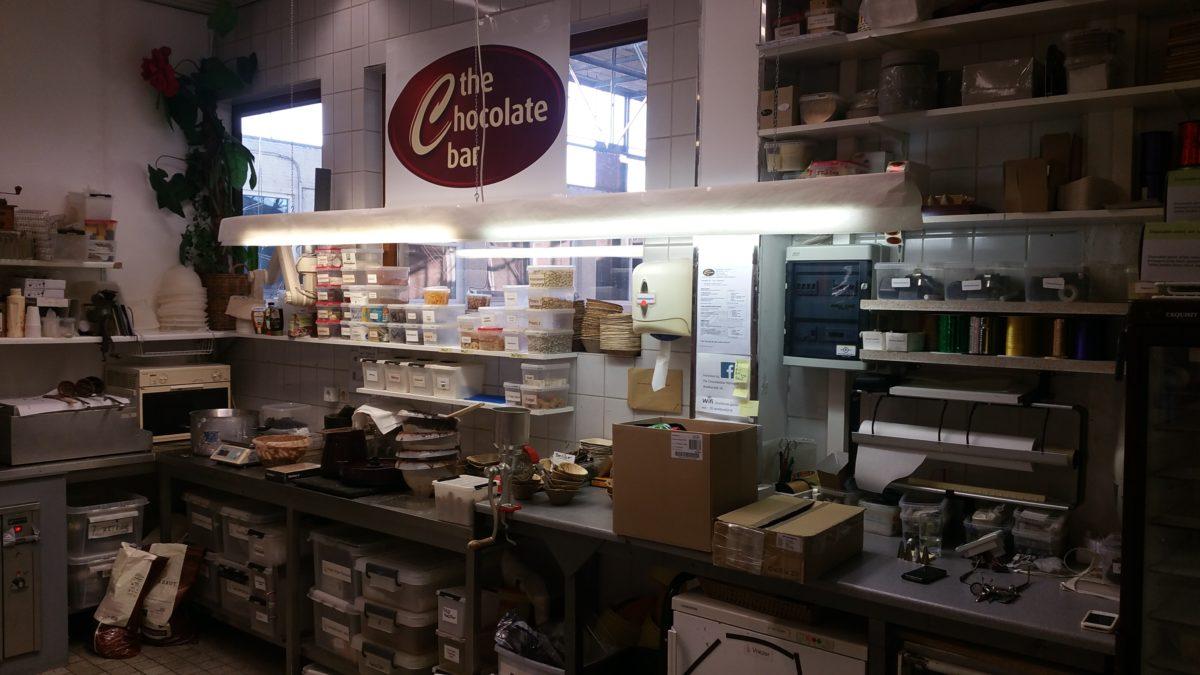 Samenwerking met 'The Chocolate Bar' uit Nijmegen