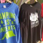 Fresh CAMPING T-shirts!